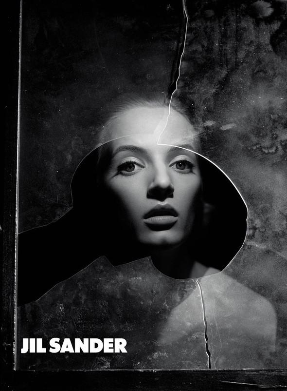 Кампания: Дарья Строкоус и Наташа Поли для Jil Sander. Изображение № 1.