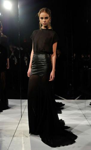 Lublu Kira Plastinina FW 2011 на показе на Нью-Йоркской неделе моды. Изображение № 30.