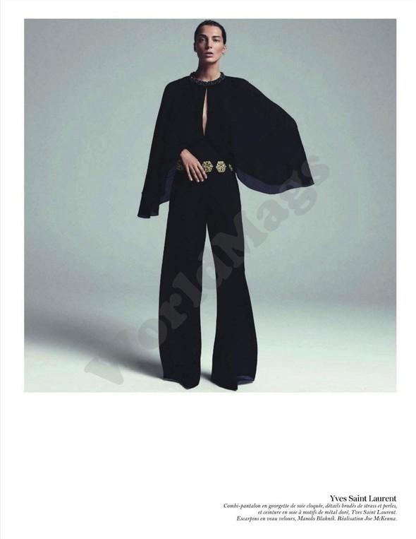 Съёмка: Дарья Вербова для французского Vogue. Изображение № 28.