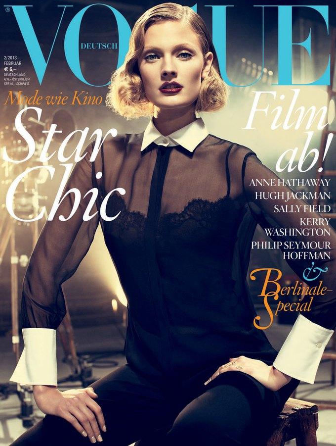 Interview, OE и Vogue показали новые обложки. Изображение № 5.
