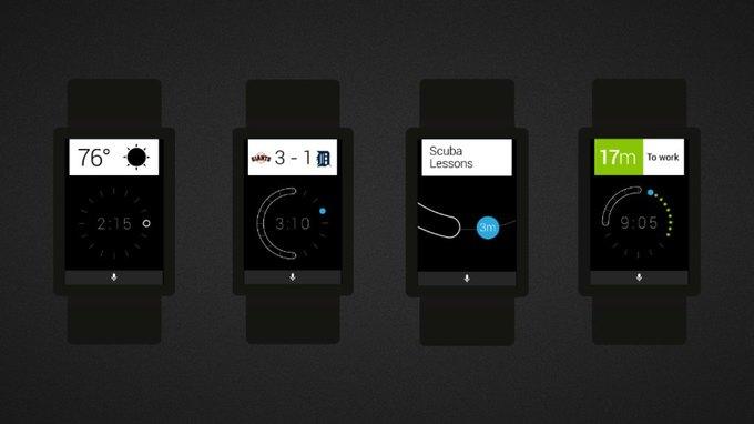 Google показала рабочие эскизы Android Wear. Изображение № 15.