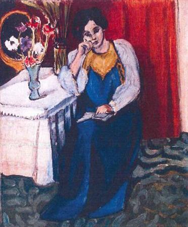 Анри Матисс «Читающая девочка». Изображение № 4.
