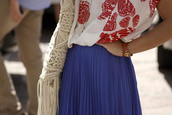 Изображение 7. Девушки на Milan Fashion Week: день 2.. Изображение № 7.