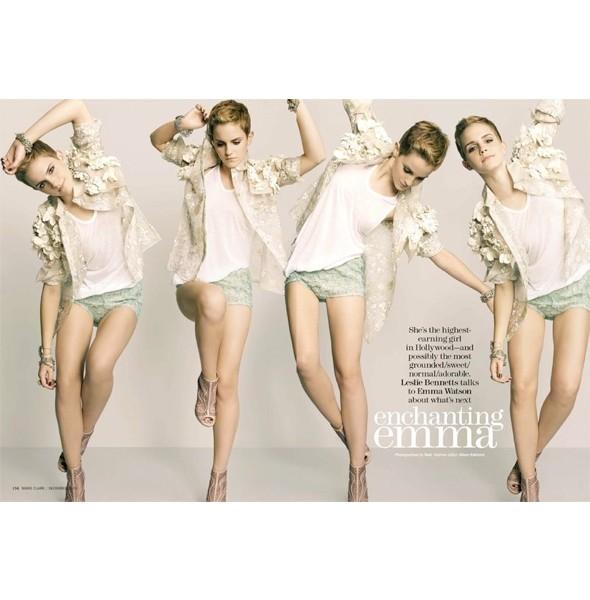 Новые съемки: Elle, Marie Claire, Vogue и другие. Изображение № 20.