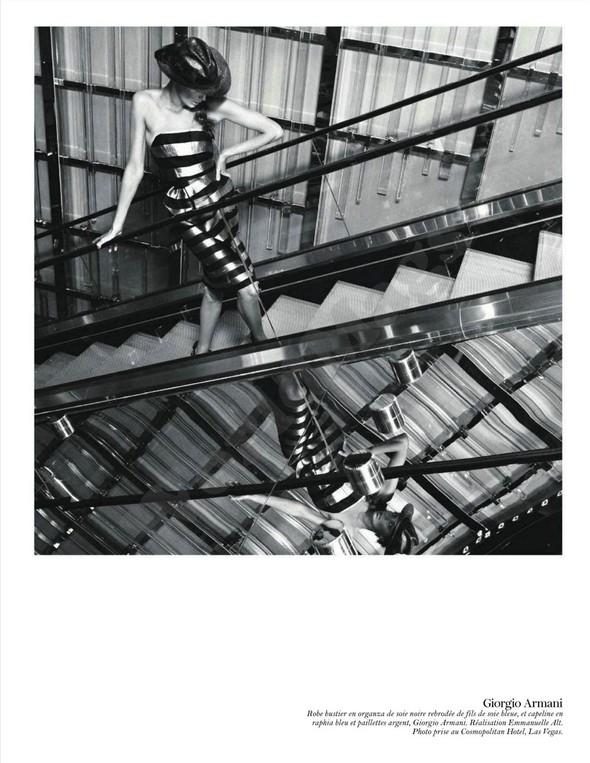 Съёмка: Дарья Вербова для французского Vogue. Изображение № 30.