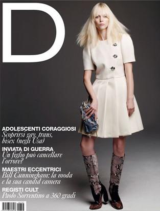 15 обложек с вещами из коллекции Prada FW 2011. Изображение № 9.