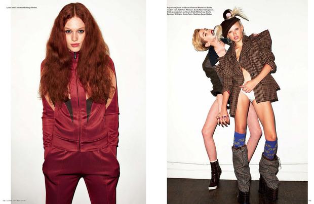 Вышли новые съемки Vogue, i-D, 10 и Interview. Изображение № 38.
