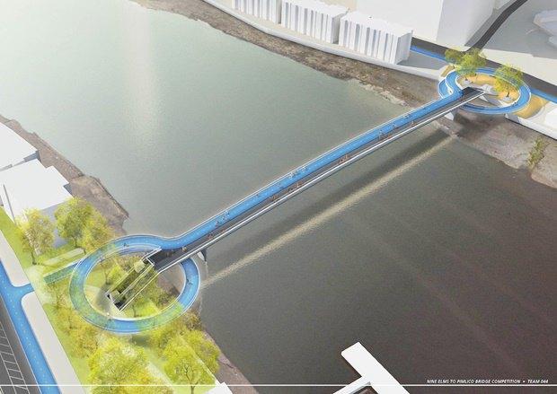 Выложены 74 проекта нового моста через Темзу. Изображение № 42.