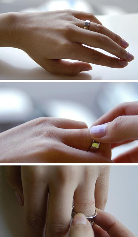 Кольцо свнутренним посланием. Изображение № 1.