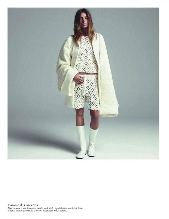 Съёмка: Дарья Вербова для французского Vogue. Изображение № 5.