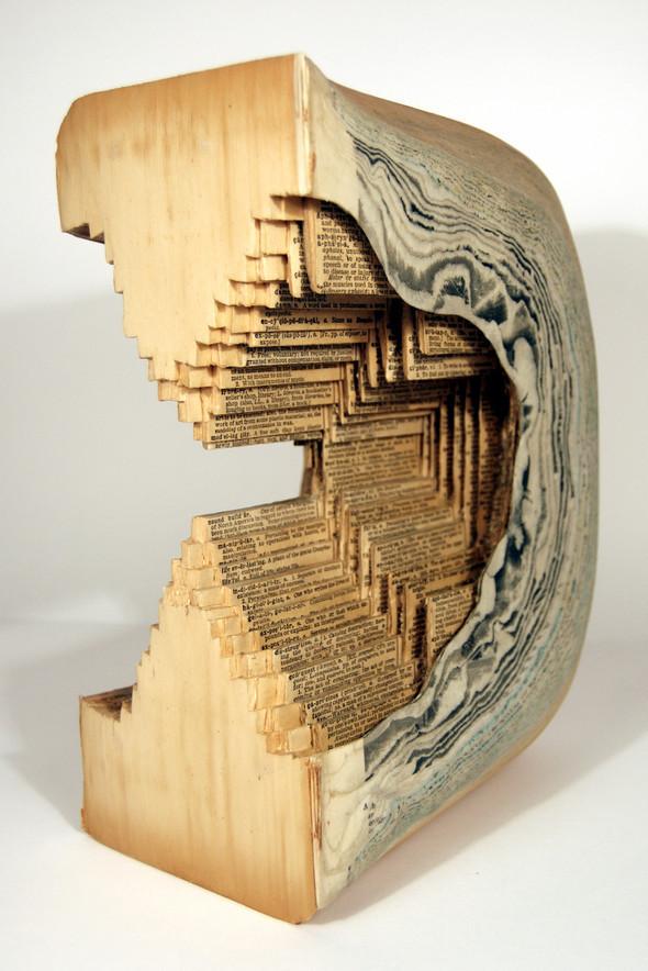 Book carving отБрайана Деттмера [Brian Dettmer]. Изображение № 10.