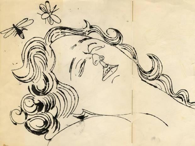 Неизвестные рисунки Энди Уорхола покажут в Лондоне. Изображение № 1.
