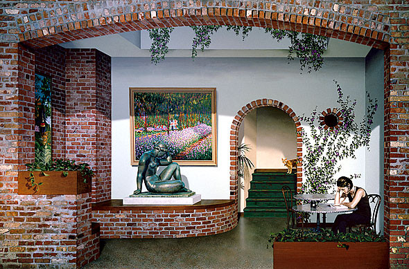 3D-маскировка городских стен от Джона Пью. Изображение № 7.
