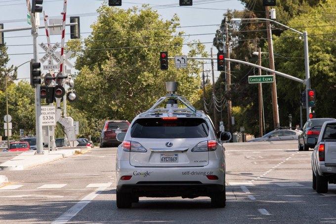 Машина Google попала в первое ДТП с пострадавшими . Изображение № 1.
