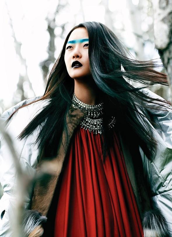 Съёмка: Хиони Канг для Flare. Изображение № 7.