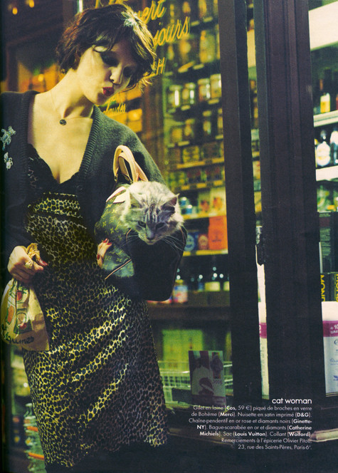 Les nuits fauves, Elle octobre 2009. Изображение № 9.