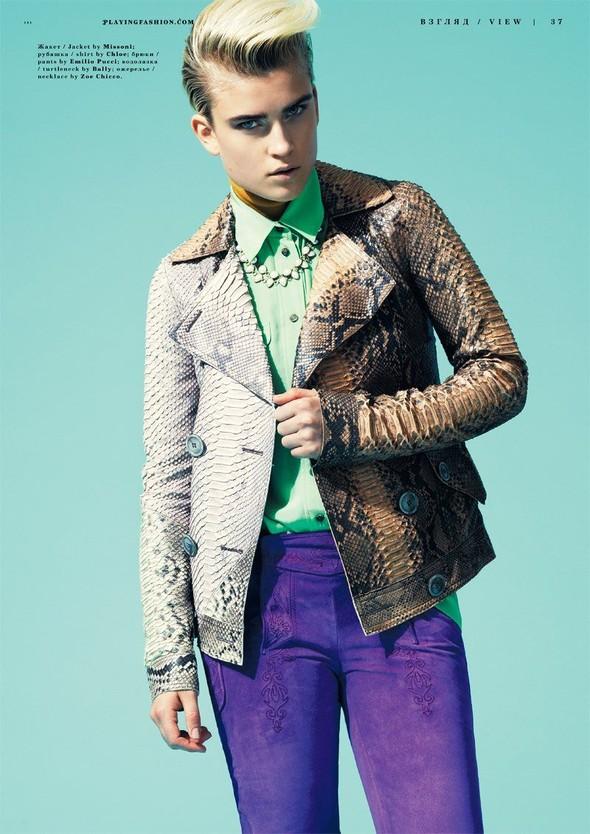 Съёмка: Яна Кнауэрова для Playing Fashion. Изображение № 7.