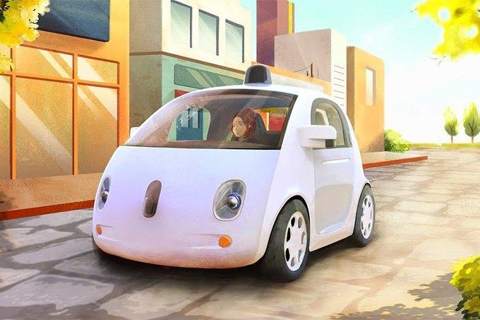 Показан прототип самоуправляемого автомобиля Google. Изображение № 2.