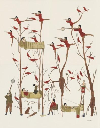 Канадский художник Marcel Dzama. Изображение № 22.