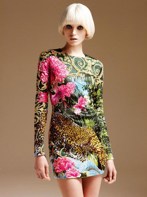 Изображение 112. Лукбуки: Atelier Versace, Sandro, Sonia by Sonia Rykiel и другие.. Изображение № 1.