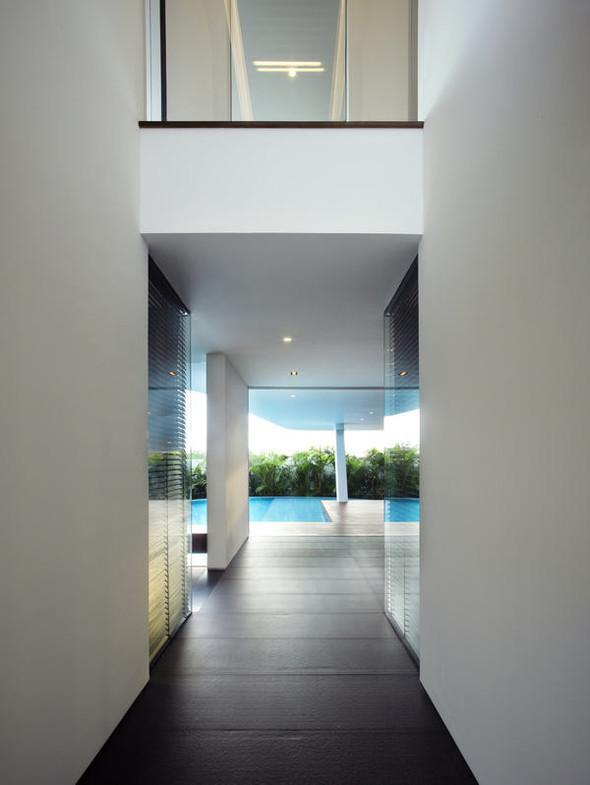 «Трехпалубная» вилла от Aamer Architects. Изображение № 12.