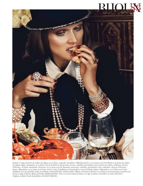 Съемки: Numero, Vogue, W и другие. Изображение №62.