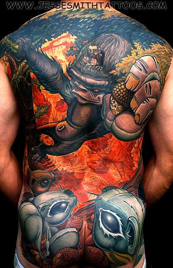 Jesse Smith Tattoo. Изображение № 8.