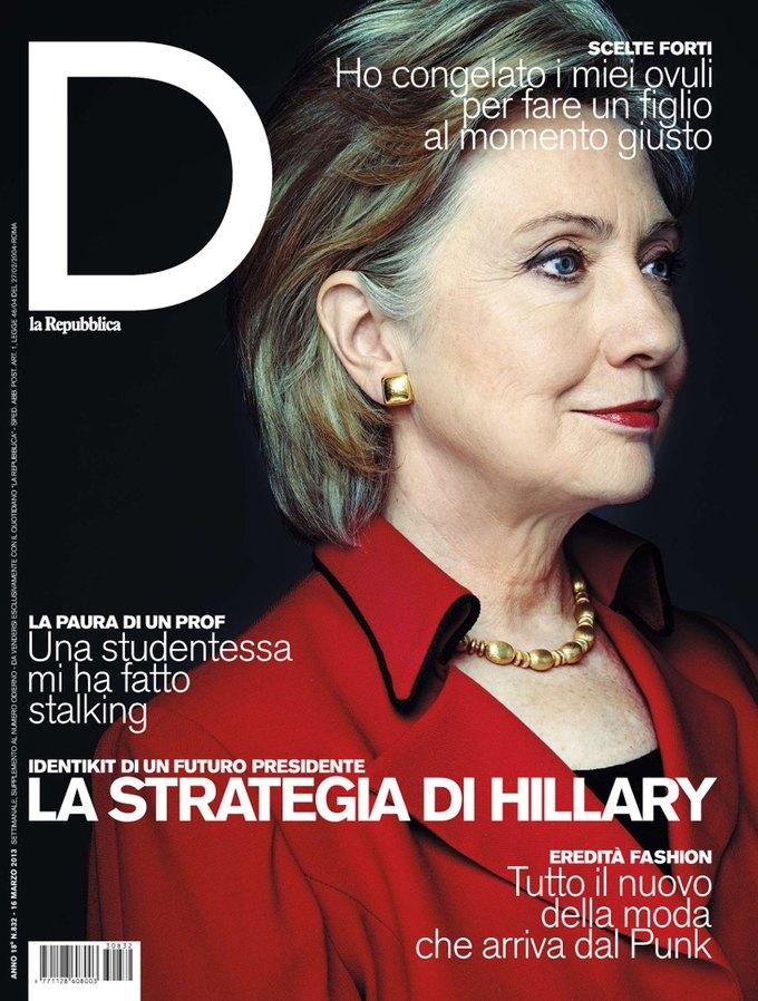 Interview, i-D и Vogue показали новые обложки. Изображение № 9.