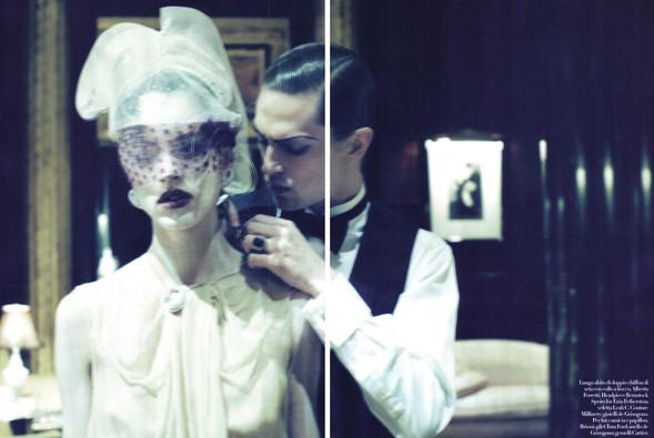 Vogue Italia March 2010. Изображение № 6.