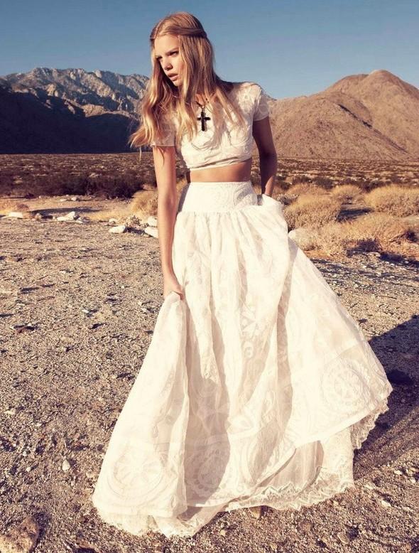 Съёмка: Марло Хорст и Кендра Спирс для австралийского Vogue. Изображение № 23.