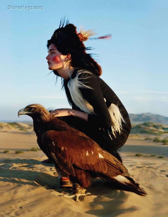 Съёмка: Кирси Пюрхонен в объективе Тима Уокера. Изображение № 5.