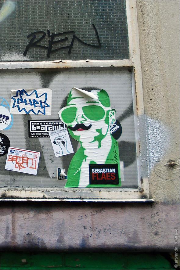 Стрит-арт и граффити Амстердама, Нидерланды. Изображение № 24.
