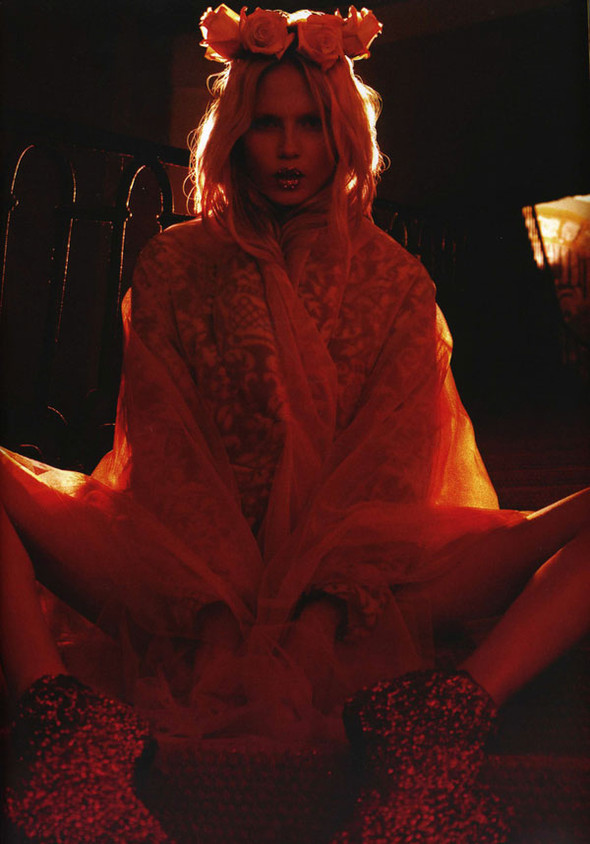 Natasha Poly by Panos Yiapanis for Muse. Изображение № 11.