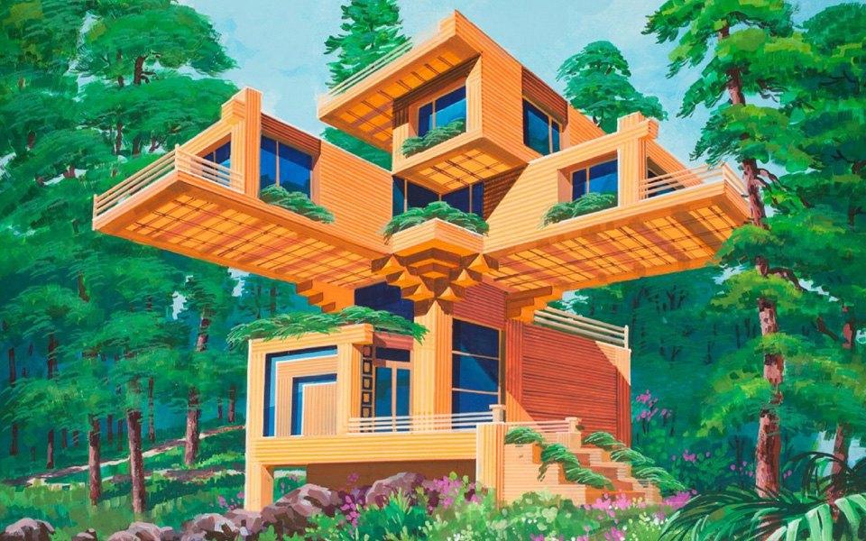 Какой видят архитектуру будущего  в Северной Корее . Изображение № 4.