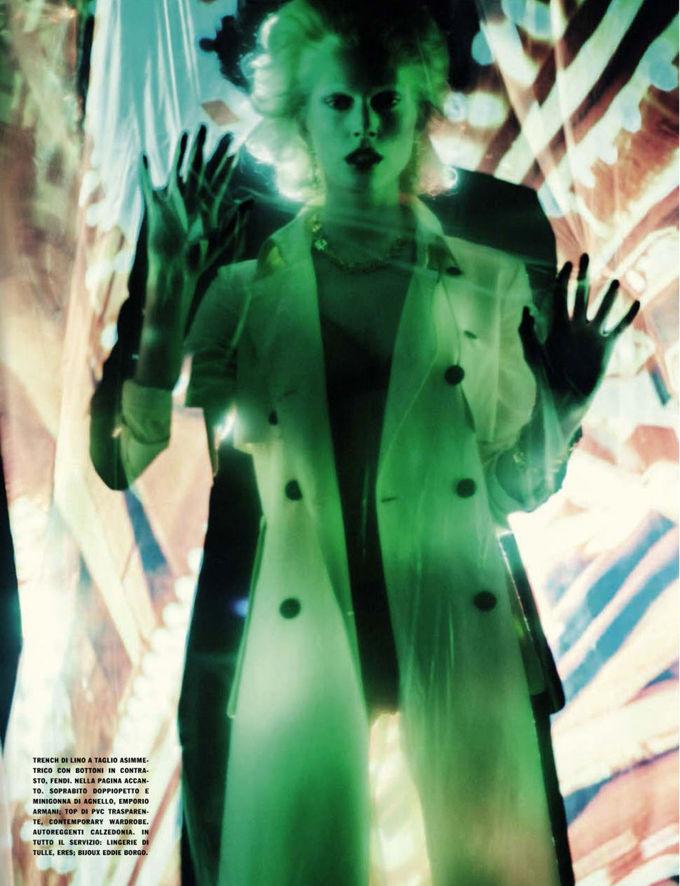 Dazed & Confused, Fat, Vogue и другие журналы выпустили новые съемки. Изображение № 56.