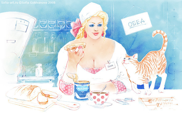 Иллюстратор Софья Голованова. Изображение № 10.