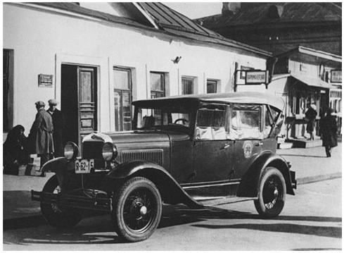 Первое советское такси на французском Renault. Изображение № 15.