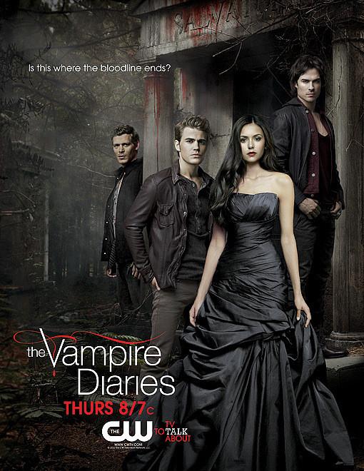Сериал Дневники вампира продлён на 4 сезон. Изображение № 1.
