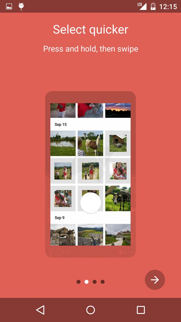 СМИ выложили скриншоты приложения Google для фотографий . Изображение № 8.