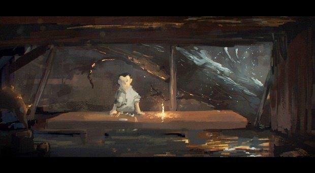 Анимация дня: японец, морской дух и груз прошлого. Изображение № 5.