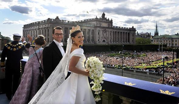 Свадьба шведской кронпринцессы Виктории. Изображение № 10.