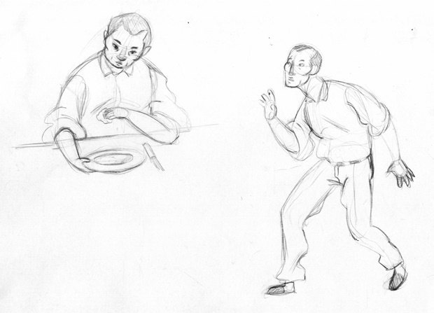 Анимация дня: японец, морской дух и груз прошлого. Изображение № 19.