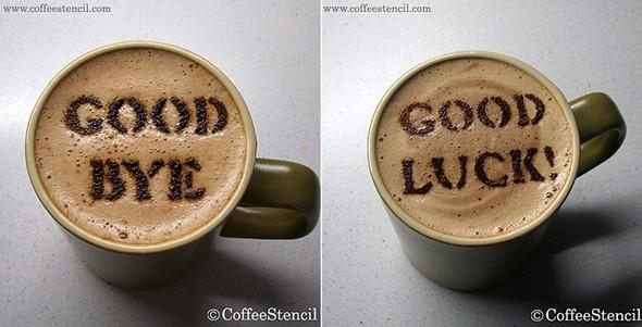Coffeestencil. Изображение № 6.