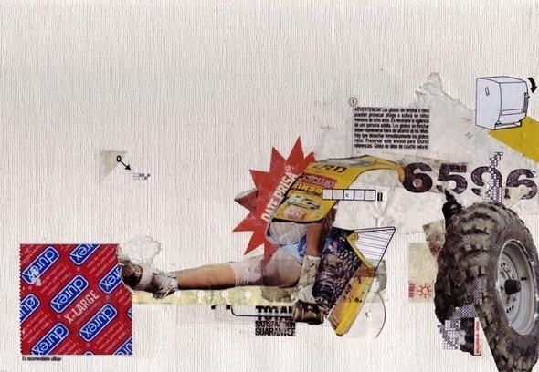 Изображение 38. Выставка: International Weird Collage Show.. Изображение № 38.