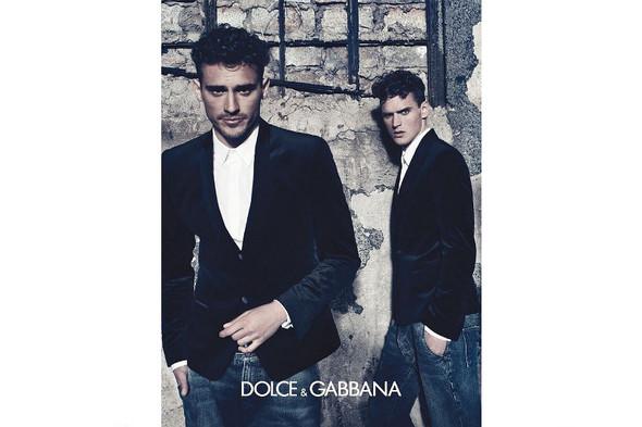 Мужские кампании: Fendi, Dolce & Gabbana и Ralph Lauren. Изображение № 12.
