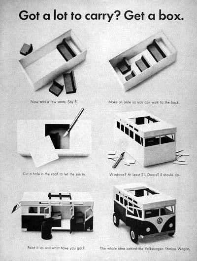 Эволюция рекламы Volkswagen. Изображение № 7.