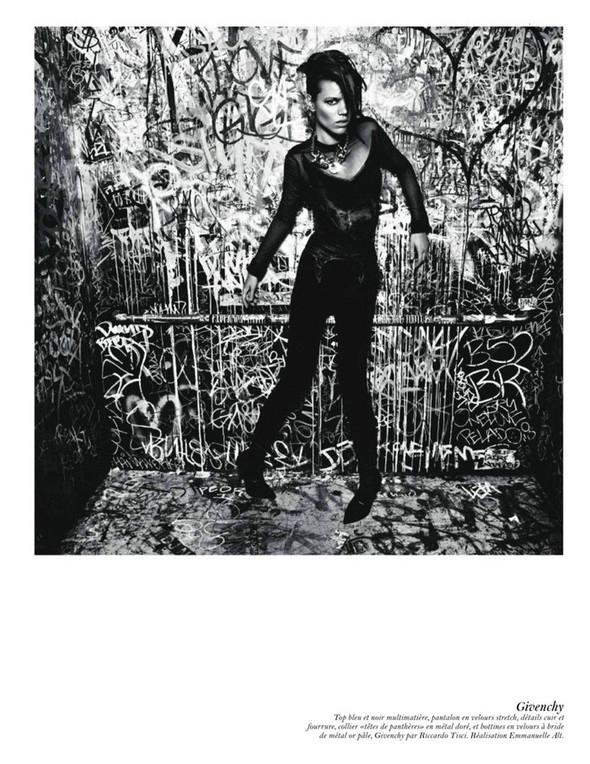 Съёмка: Аризона Мьюз, Лара Стоун, Наташа Поли и другие модели во французском Vogue. Изображение № 46.