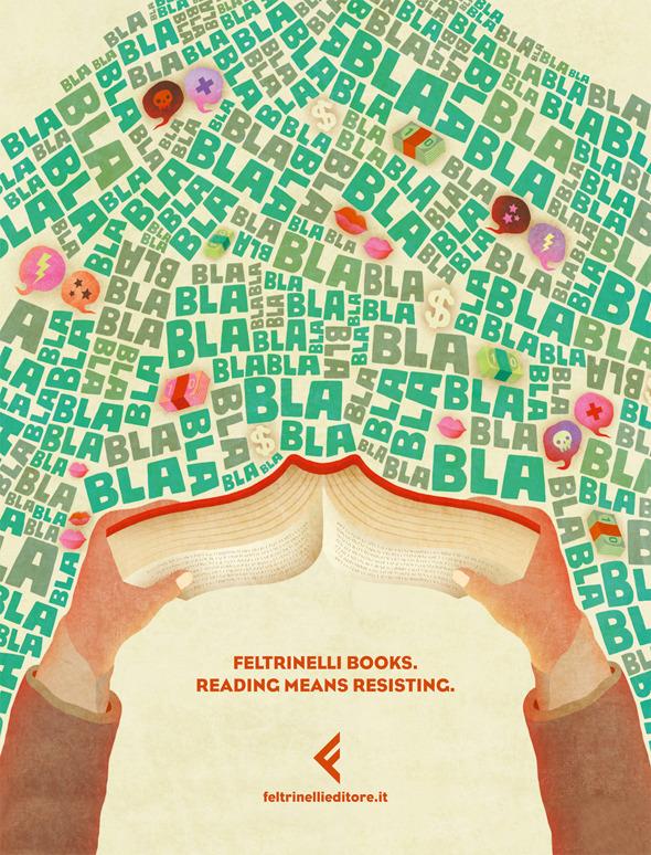 50 примеров использования типографики в рекламе. Изображение №27.