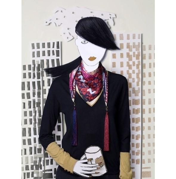 Изображение 3. Франсуа Кадьер создал коллекцию платков для Louis Vuitton.. Изображение № 3.