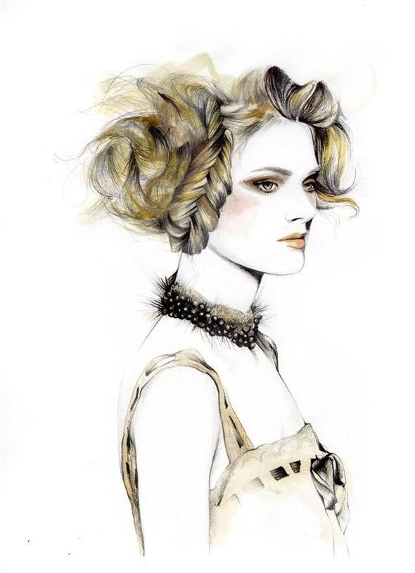 Изображение 3. Акварельные иллюстрации Caroline Andrieu.. Изображение № 3.